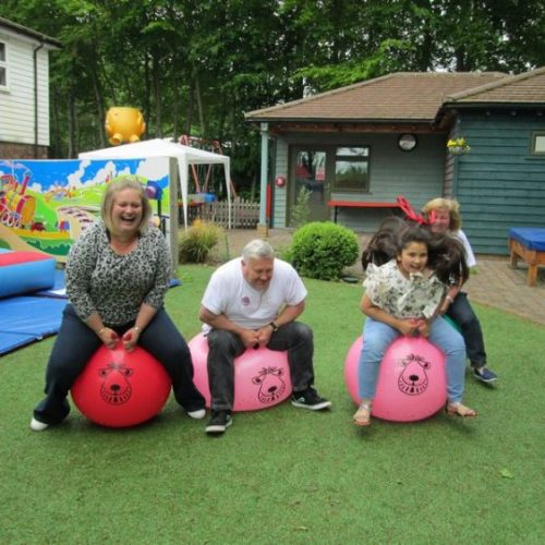 space hoppers garden games for hire