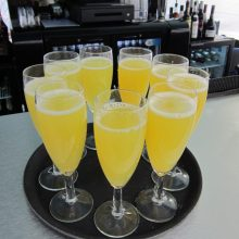 leisureking-mobilebar-bucksfizz-welcome-drinks