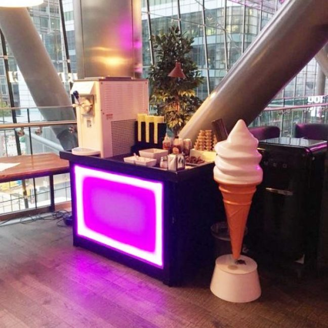 mr whippy Ice cream Machine Hire