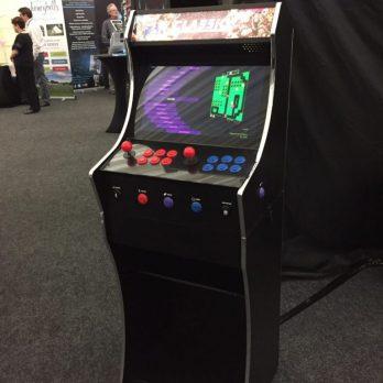 retro arcade game machine for hire