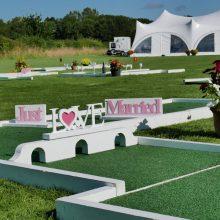 Wedding mini golf hire